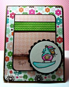 'Sup - Christmas in July by jellybean74 - Cards and Paper Crafts at Splitcoaststampers