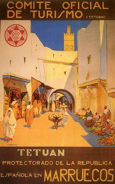 Tetuan Morocco Arabic Spain