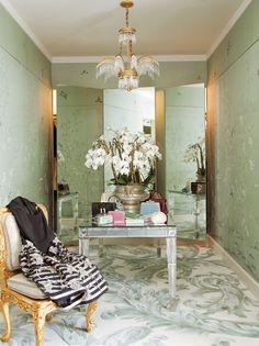Elegant living: a gorgeous dressing retreat — The Decorista