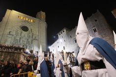 Processó del Sant Enterrament a Girona