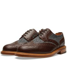 Mark McNairy Country Brogue Shoe (Two Tone)