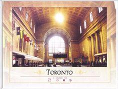 Toronto Calendar Cover by Diana Fairthorne