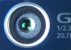 strange Sony Xperia Z2 camera lens