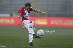 News Photo : Jacopo Dezi of Parma Calcio in action during the...