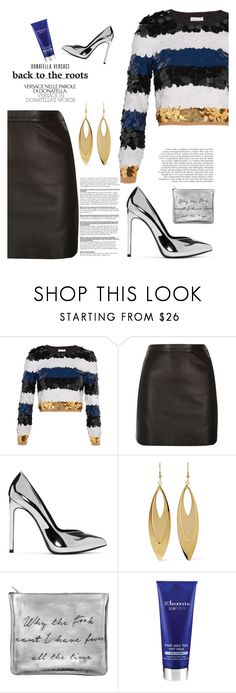 """Sin título #439"" by pao-mechanic ❤ liked on Polyvore featuring Sonia Rykiel, River Island, Yves Saint Laurent, Kenneth Jay Lane, Sarah Baily and Elemis"