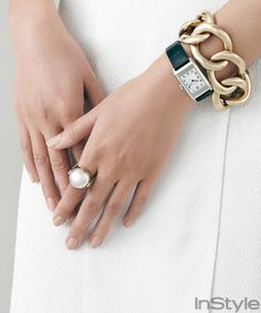 This Is How a Hand Model Keeps Her Nails in Shape from InStyle.com
