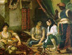 Eugene Delacroix Kobiety Algierskie