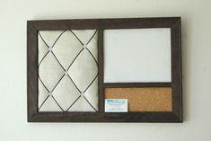 Corkboard, Magnetic Whiteboard Dry Erase Board & French Memo Board Organizer on Etsy, $77.16 CAD