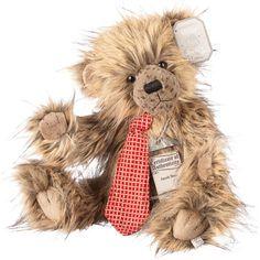 Suki Teddy Bear Jacob - Silver Tag Bear - Collection 3