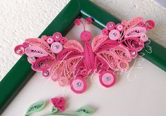 Ayani art: quilled flower