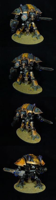 Imperial Knight (yellow-grey)