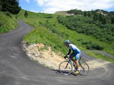 Monte Zoncolan - Italia, one of the toughest climbs in cycling, 11.9% average grade, maxes out on about 22%
