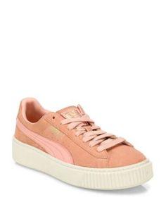 PUMA Suede Platform Sneakers. #puma #shoes #sneakers