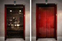 Elevator wrap for Hard Rock Hotel. Photos/concept by John Schulz .