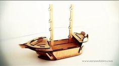 How to build Saru and Shira's Pirate Ship.