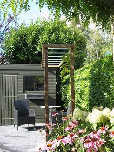 Portfolio hooft hoveniers on pinterest tuin met and vans - Landschapstuin idee ...
