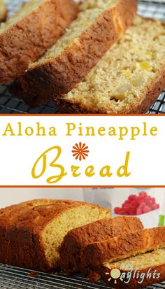 Pineapple Bread with Banana, Pineapple, Coconut, and Macadamia Nuts ...