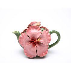 Hibiscus 0.28-qt. Teapot