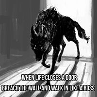 Just go don't think about it you only live once live to the fullest Wolf Qoutes, Lone Wolf Quotes, True Quotes, Great Quotes, Motivational Quotes, Inspirational Quotes, Wolf Spirit, Spirit Animal, Wolf Love