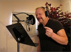Voice-over artist At first glance, Scott Chapins job as the voice behind the news promos seems pretty great. But make no mistake about its difficulty -- in back-to-back 10-minute sessions throughout a 10-hour workday, Chapin records voice-overs for 20 TV stations nationwide, from Miami and Atlanta to Chicago, San Francisco, and Seattle, Globe reporter Johnny Diaz writes .