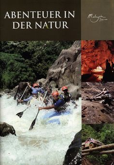 Malaysia, Abenteuer in der Natur 2009 | tourism travel brochure | by worldtravellib World Travel library