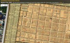 Excelente página para dar un paseo por la historia a través de aproximadamente 69000 mapas históricos e imágenes, comprendidos entre los siglos XVI y XXI.