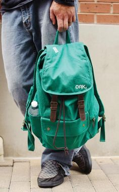 """Ordinary Backpack from OAK Lifestyle   The low-key style of the roomy and durable back makes it appropriate for elementary schoolers, college students, or adults. With each purchase, a child in need will receive a backpack filled with school supplies, via The Neighborhood Kids, in Austin, Texas, or Africa New Life, in Rwanda. OAK stands for """"ordinary acts of kindness,"""" and the company's co-founders include several adoptive parents."""