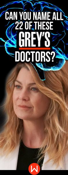 Fun Greys's Quiz: Can you name EVERY Grey's doctor? From Cardio to Neurosurgery, do you know everybody? How well do you remember the doctor's of Grey Sloan Memorial Hospital? #greysanatomy fun test, Greys quizzes, Derek Shepherd, Cristina Yang, Meredith Grey and more...Ready for a challenge?