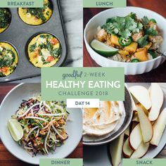This is Day 14 of the Goodful Two-Week Healthy Eating Challenge. Click here to get a rundown of the whole program.