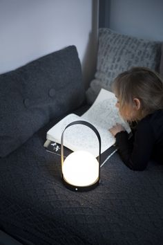 USB charged LED light -  a small versatile, portable and rechargeable lamp for any occasion