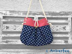Maritime Handtasche ⚓ Smilla von ⚓ Ankerfee auf DaWanda.com