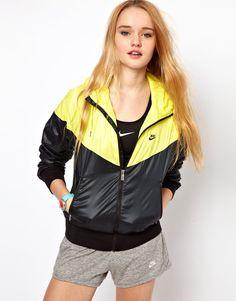 Shop Nike Windrunner Jacket at ASOS. Black Adidas Jacket, Black Rain Jacket, Rain Jacket Women, Nike Jacket, Pink And Black Nikes, Yellow Nikes, Raincoats For Women, Jackets For Women, Clothes For Women