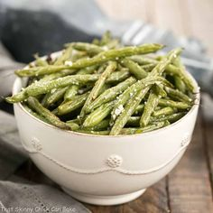 I'm a huge fan of roasted vegetables, and these Garlic Parmesan Roasted Green Beans were a spectacular addition to our menu!