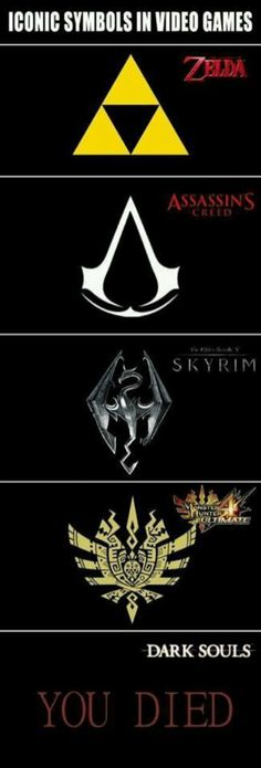 Iconic symbols in video games