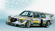 Roy Lichtenstein's Pop Art BMW Racing Car