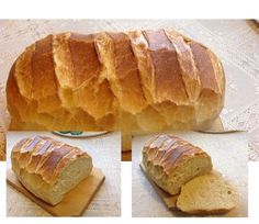 Friss ropogós házi kenyerem - Gyors kovászos kenyér - MindenegybenBlog Baking And Pastry, Bread Baking, Braided Bread, Torte Cake, Salty Snacks, Hungarian Recipes, Bread And Pastries, How To Make Bread, Sweet And Salty
