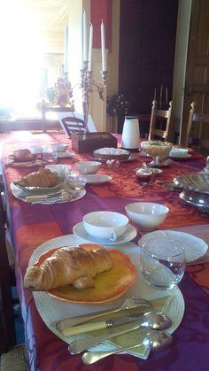 Le petit déjeuner est servi