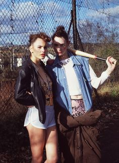 cara lewis and aimee hurst by jude kendall for the wild magazine