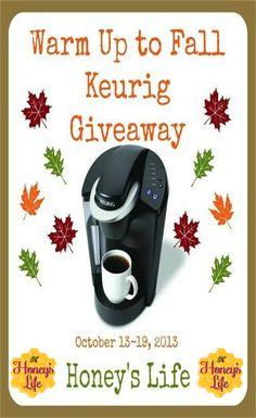 """""""Keurig My K Cup"""" and win a Keurig B40."""