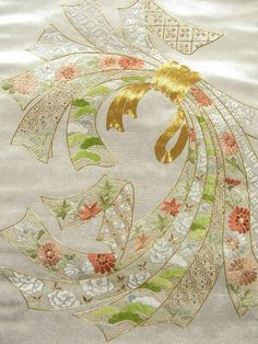 ... Noshi Ribbon Patterns on Pinterest | Needlepoint, Ribbons and Kimonos