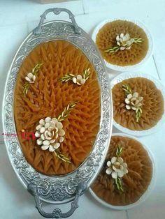 Iranian Desserts, Persian Desserts, Persian Recipes, Afghan Food Recipes, Indian Food Recipes, Afghanistan Food, Easy Food Art, Halva Recipe, Iran Food