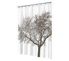 Tree EVA Shower Curtain - Mocha
