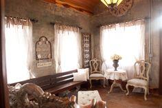 Historical, vintage bridal suite