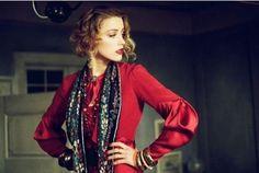 "Amber Heard in ""The Danish Girl"". Costume Design by Paco Delgado."