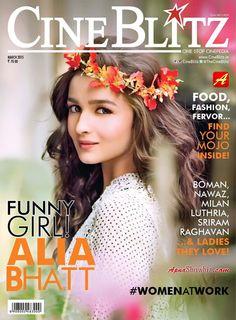 #AliaBhatt #CineBlitz #MagazineCover #India