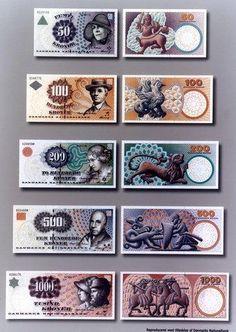Danish banknotes anno 2002