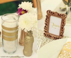 Gold Party Decor – Ideas For Milestone Celebrations — Celebrations ...