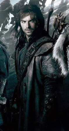 Kili. ruining my expectations of dwarves since...well, i guess the first time i saw the Hobbit movie :P