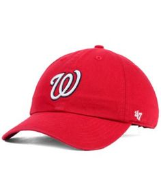 8f174c4bfc68e  47 Brand Kids  Washington Nationals Clean Up Cap   Reviews - Sports Fan  Shop By Lids - Men - Macy s