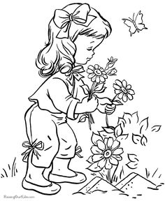 flower printables sheets for kids 020